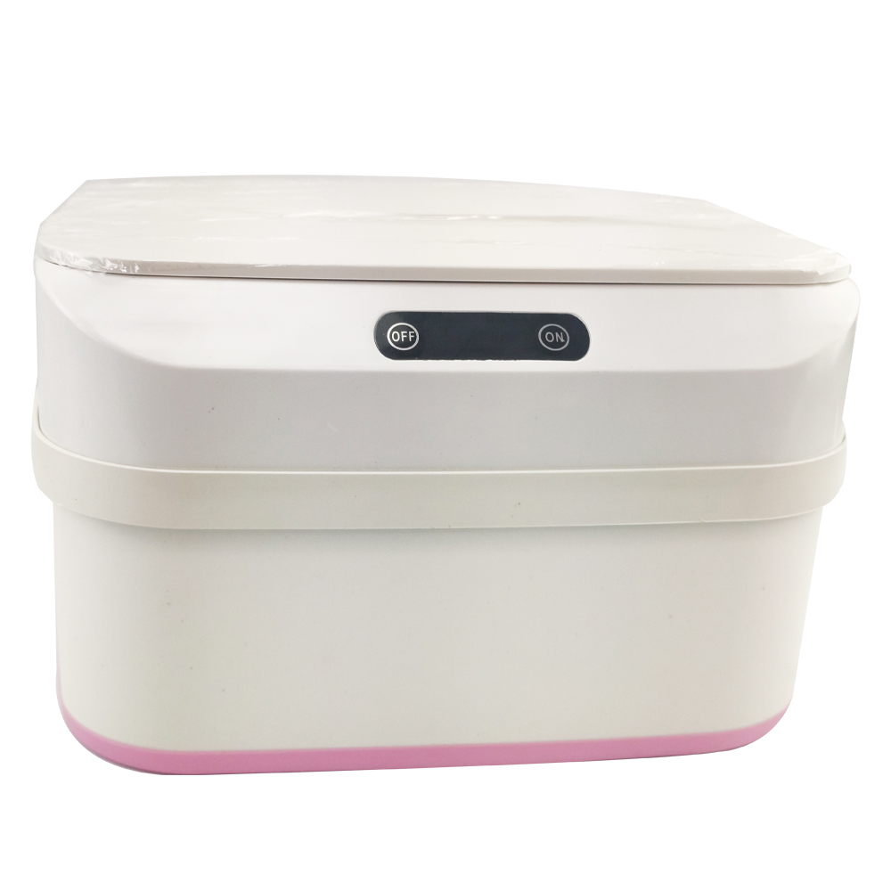 Lixeira Com Sensor Automatica Retratil Higienica Altura Ajustavel Cozinha Lixo Silicone Inteligente