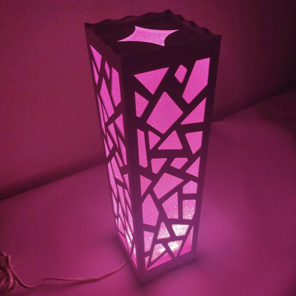 Luminária  Cabeceira de Mesa Abajur Decoraçao Torre Fixa Sala Trabalho Iluminação Leitura Tower Fix Quarto
