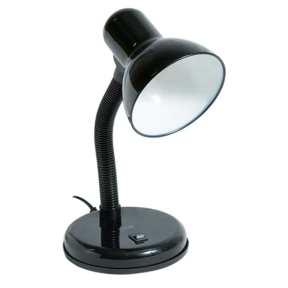 Luminaria de Mesa Abajur Articulavel Escritorio Flexivel Sala Trabalho Iluminaçao Copa Leitura Estudos Luz