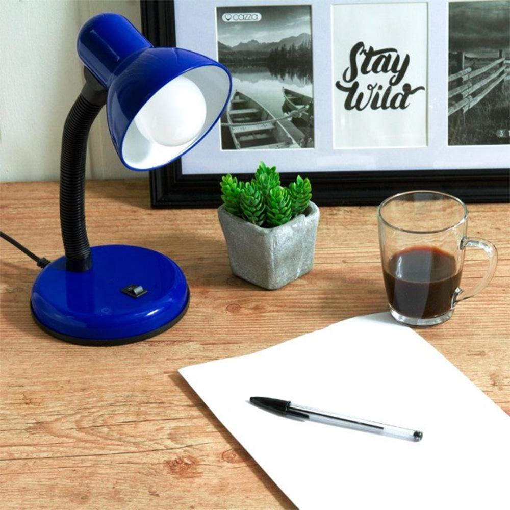 Luminaria de Mesa Abajur Articulavel Flexivel Escritorio Sala Iluminaçao Leitura Estudos Luz Copa Trabalho
