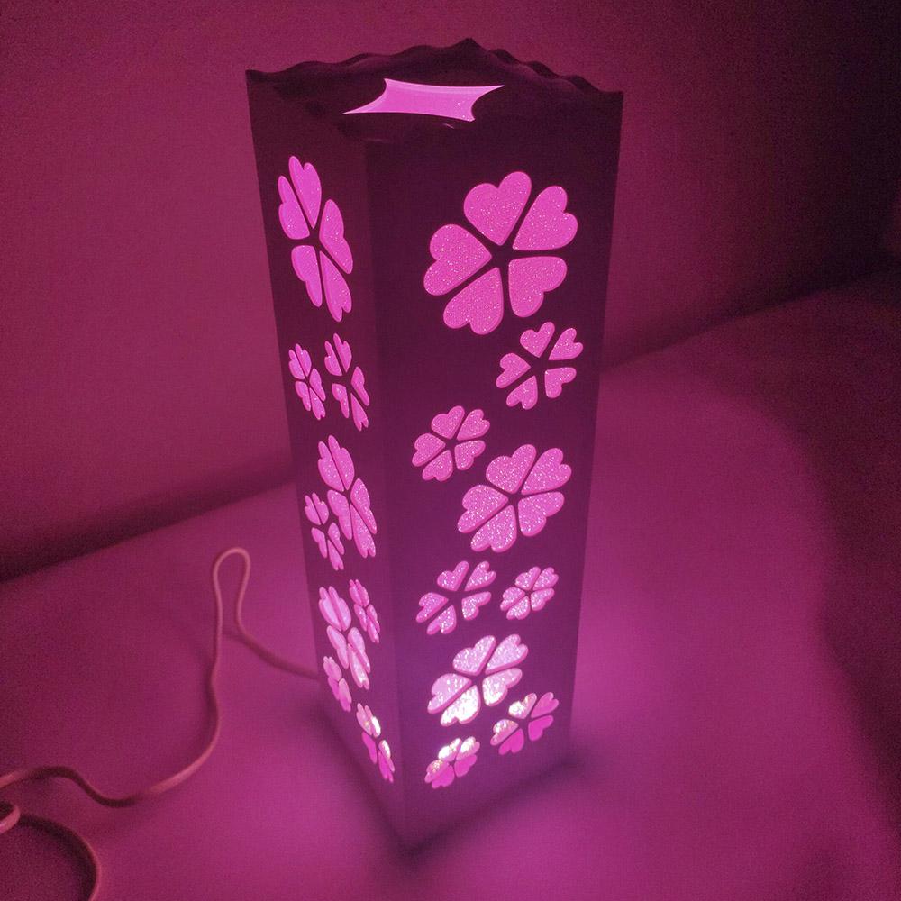 Luminária de Mesa Abajur Decoraçao  Cabeceira Led 3 tons Torre Fixa Sala Trabalho Iluminação Leitura