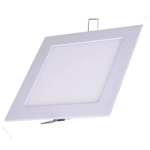 Luminaria Painel Plafon Led Quadrado Branco Embutir 6w (90509)