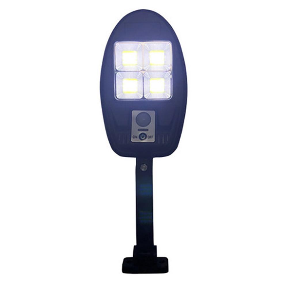 Luminaria Solar Led Parede Poste Sensor de Proximidade Externo 3 Modos