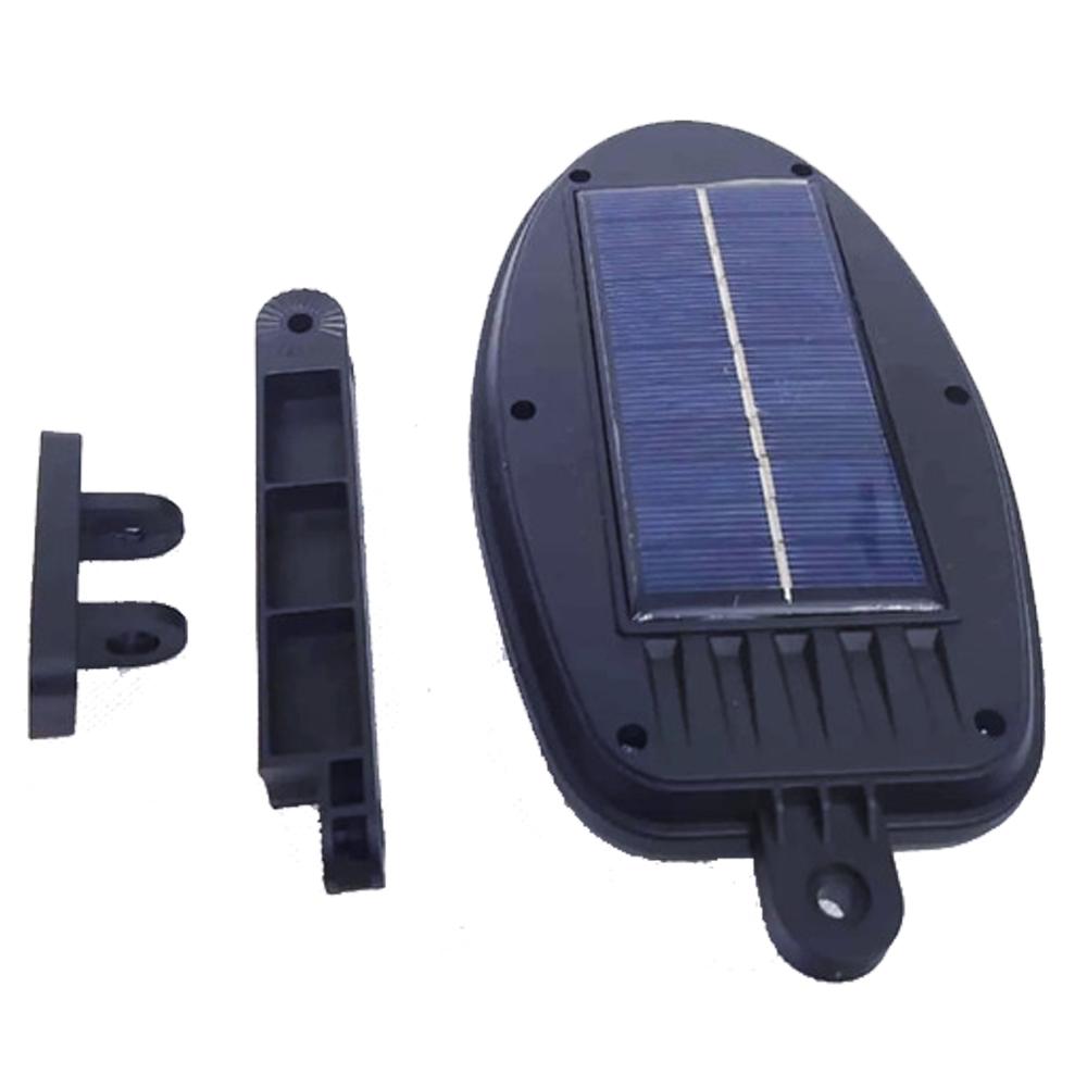 Luminaria Solar Sensor de Movimento Presença Led Externo 3 Modos Parede Poste