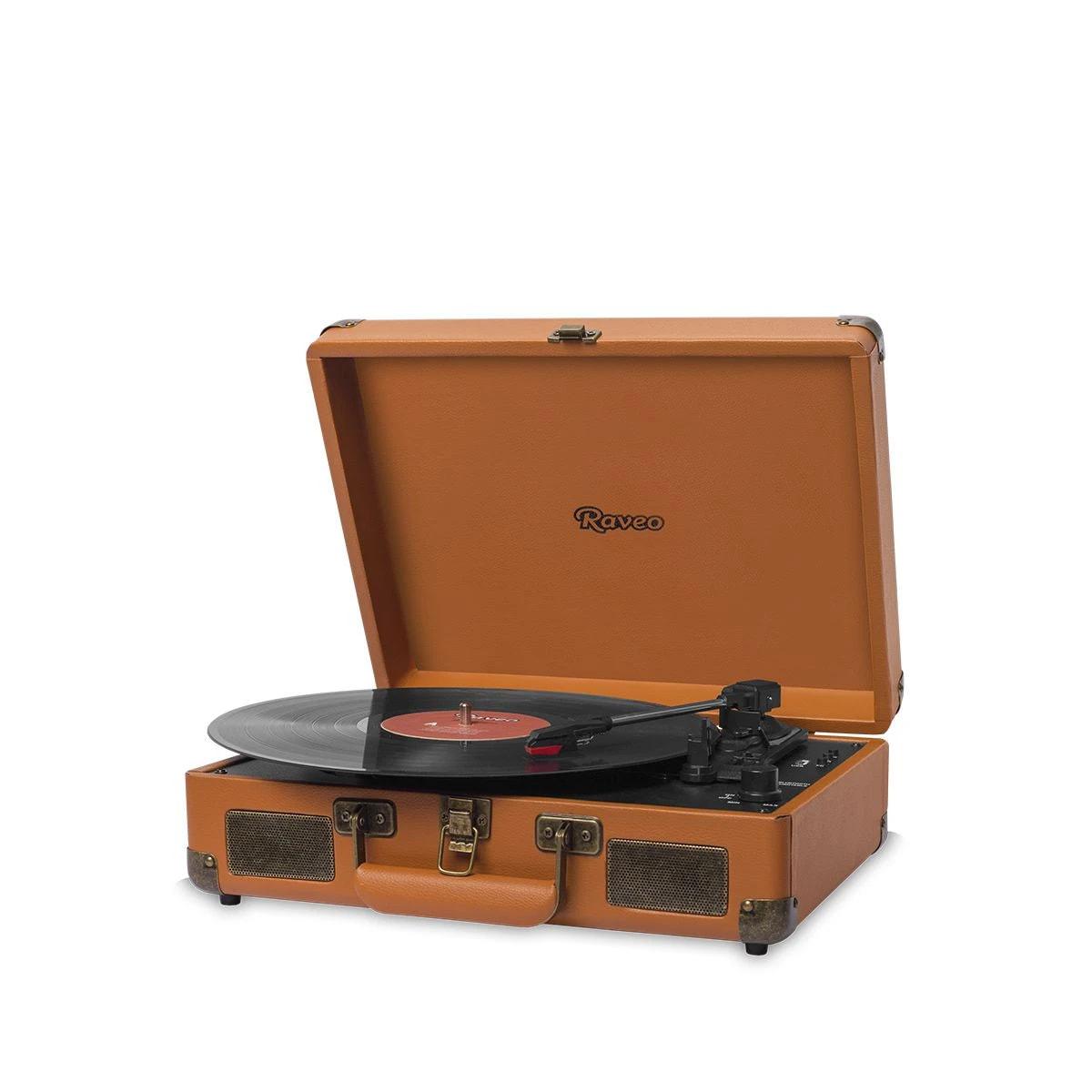 Maleta Vitrola Toca Disco Vinil Bluetooth Usb Classico Retro Vintage
