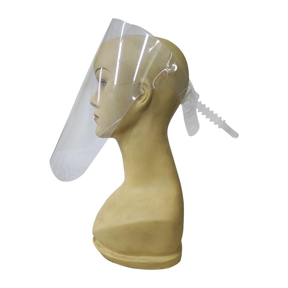 Mascara Face Shield Facial Protetor Ajustavel Viseira Respingos Escudo Epi