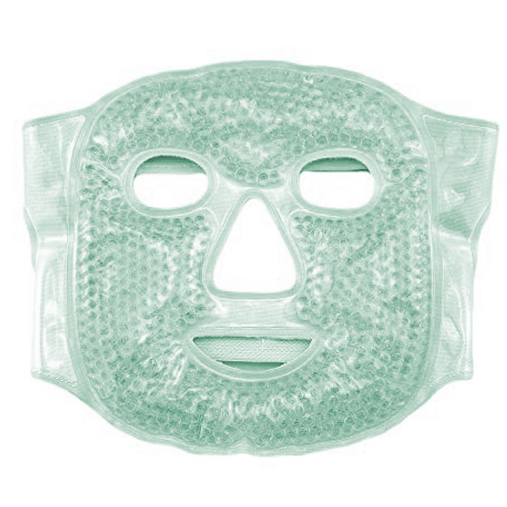 Mascara Facial Gel Rosto Olhos Morno Frio Relaxante