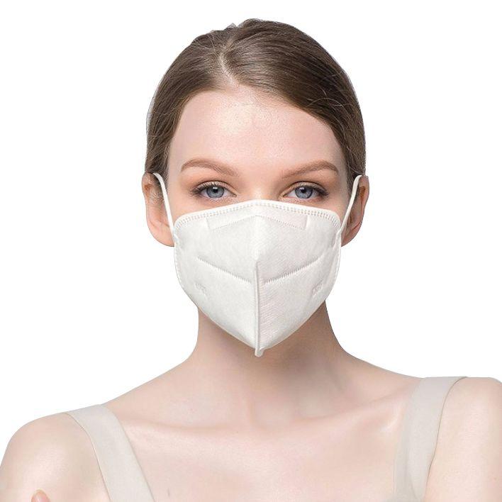 Mascara KN95 Kit 50 uni. Respirador Proteção Reutilizável Profissional Respiratoria PFF2 EPI