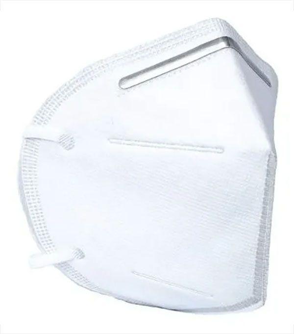 Mascara KN95 Kit 5 Uni Respiratoria Profissional Proteção PFF2 Respirador EPI N95