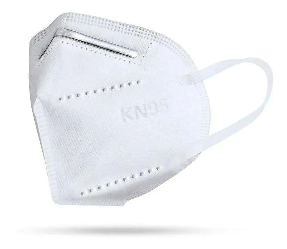 Mascara KN95 Respiratoria Profissional Proteção PFF2 Respirador EPI N95