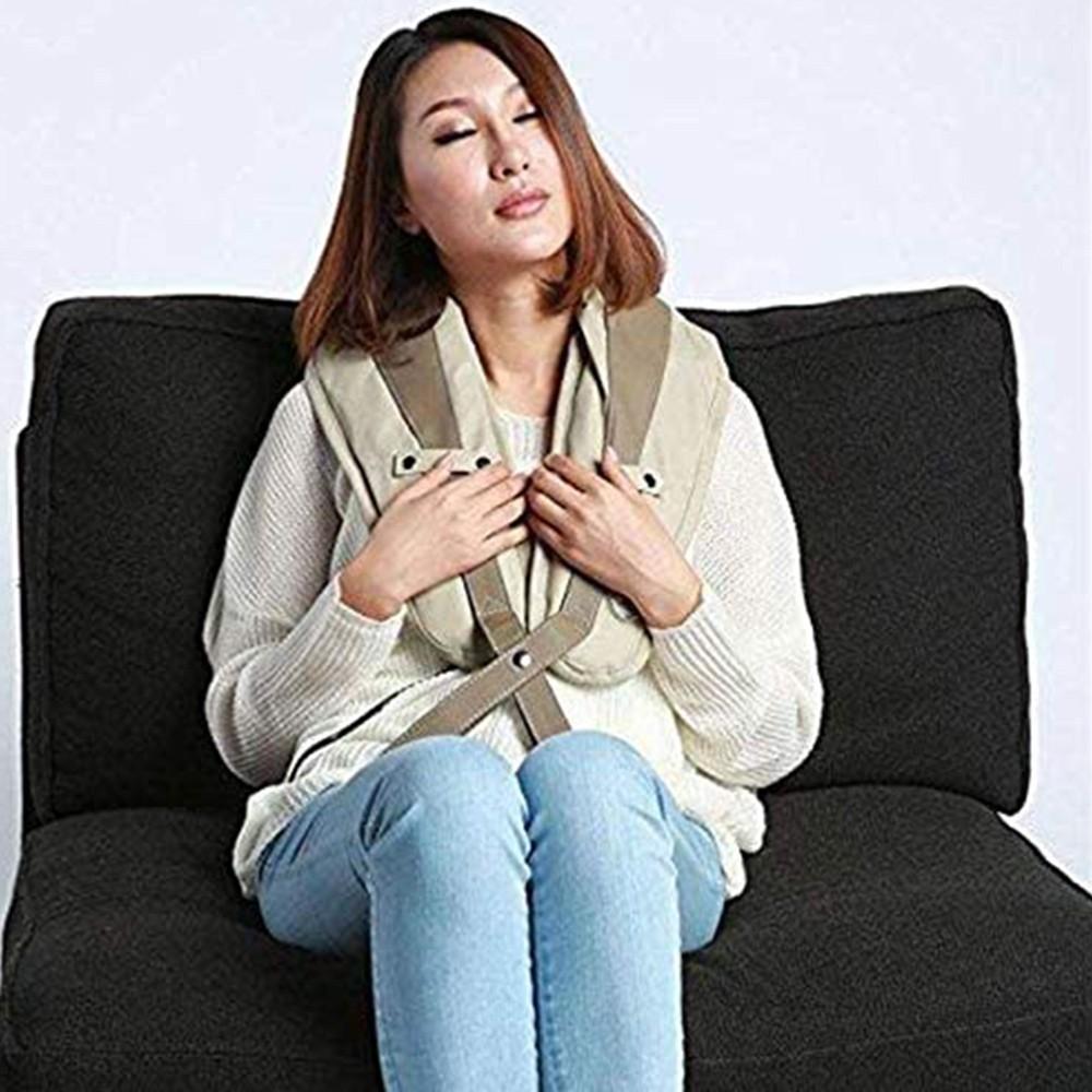 Massageador Cervical Para Dores Musculares Massagem Relaxamento Ombros