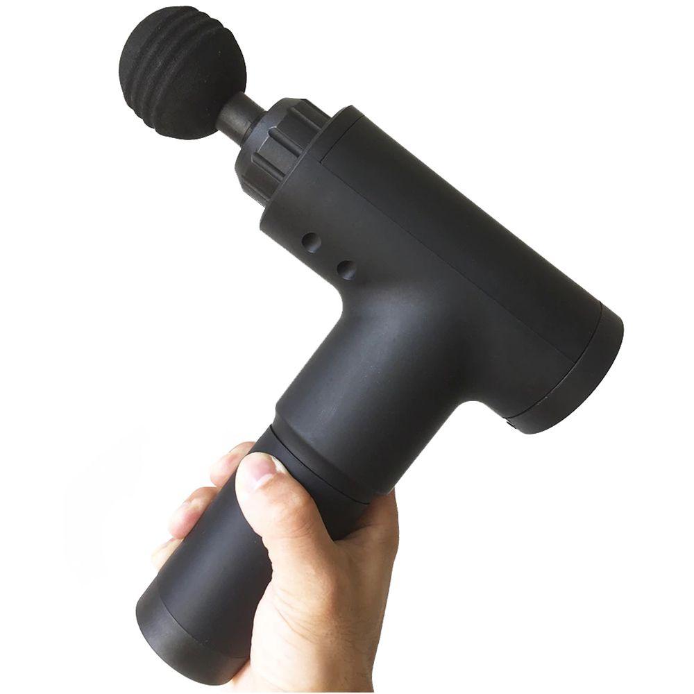 Massageador Pistola 5 Velocidades Corporal Bateria Recarregavel Esporte Portatil