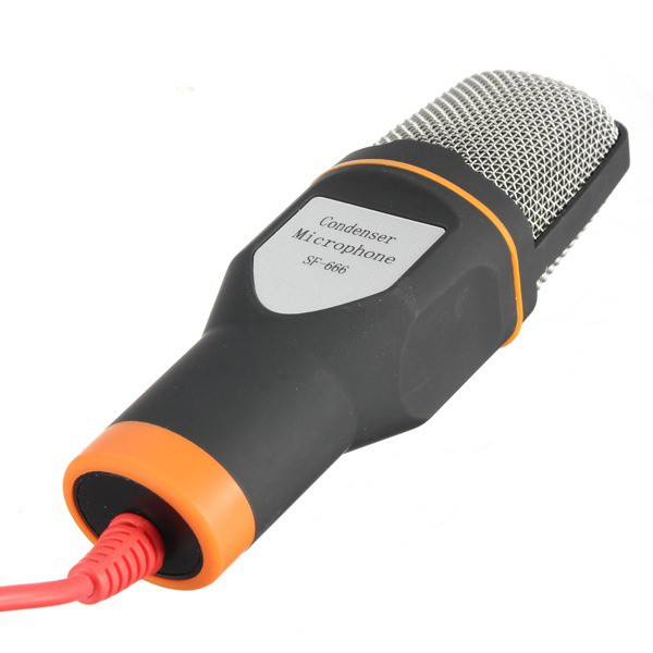 Microfone Condensador Omnidirecional Tripe Gravaçao Profissional Notebook Youtuber Musica Live Audio