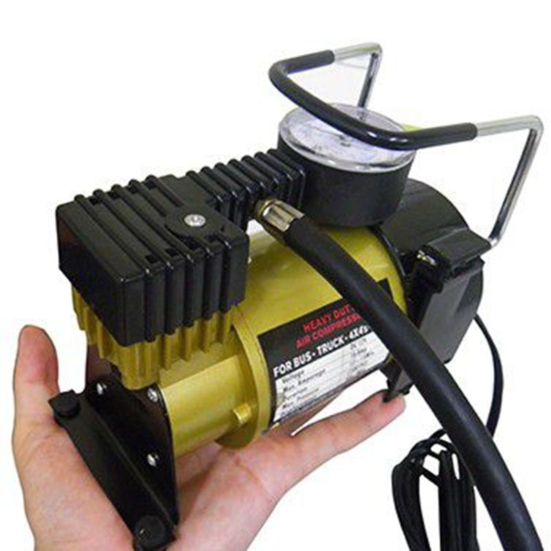 Mini Compressor de Ar Profissional Automotivo Portatil 12V Carro Veicular Pneu