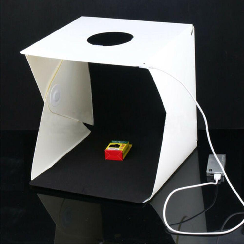 Mini Estudio Fotografico LED Caixa de Foto Profissional Youtuber Comercio Empresa Light Box Still Produtos