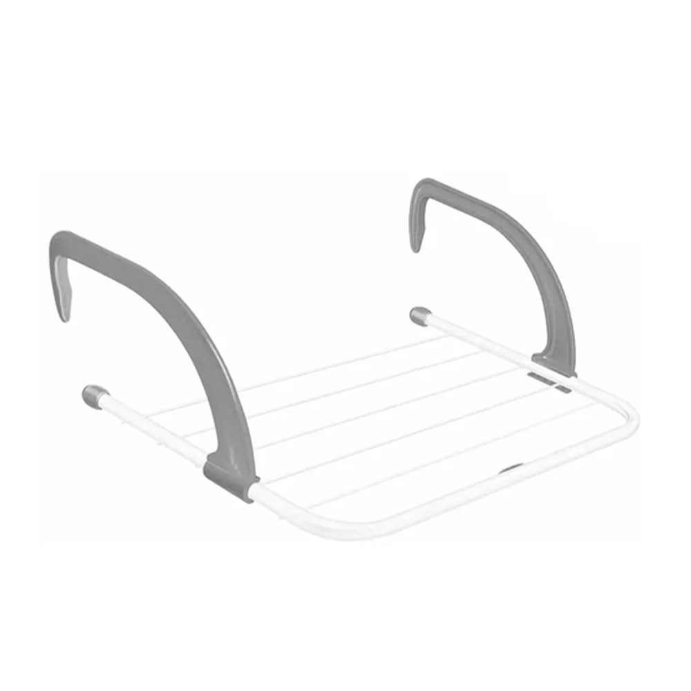 Mini Varal Portátil Secador de Roupas Janelas Varanda Porta Box Banheiro Lavanderia