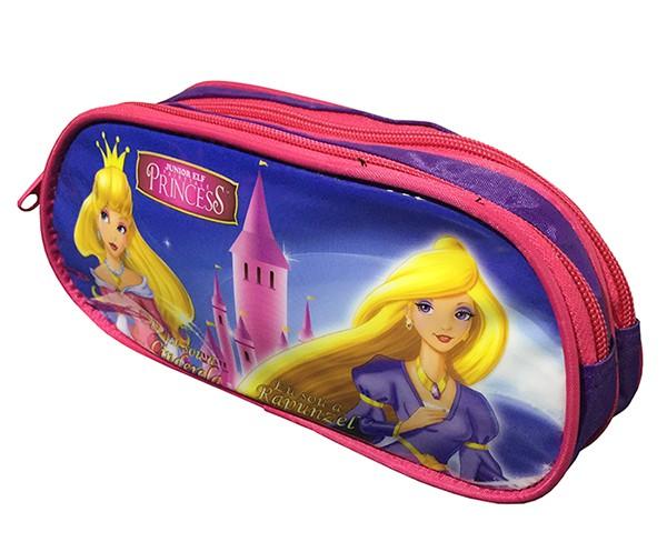 Mochila Escolar Princess Com Estojo Infantil para Crianca (EI31004PR / IS31001PR)