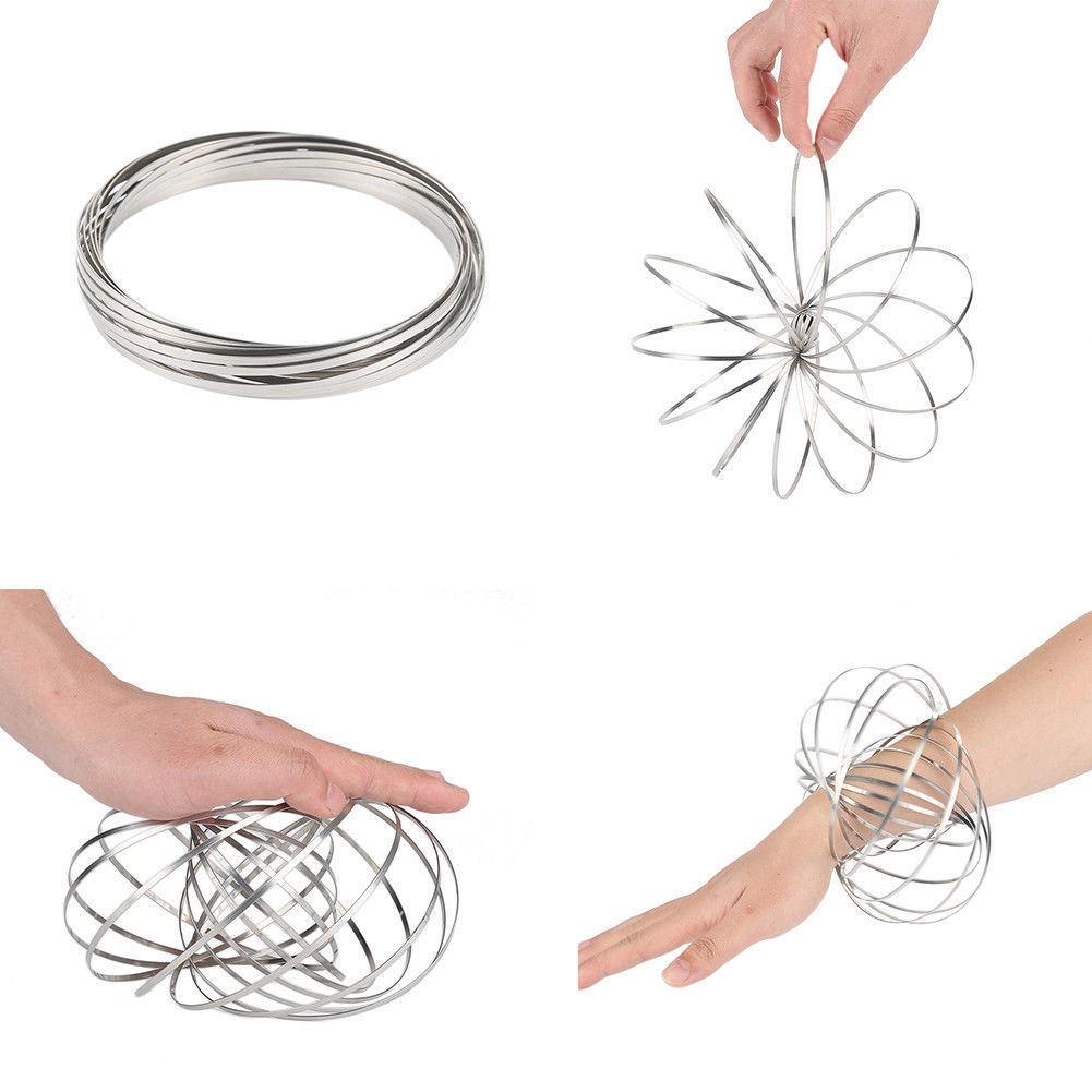 Mola Magic Ring Brinquedo Criança Metal Manobra Interativa (Magic Ring)