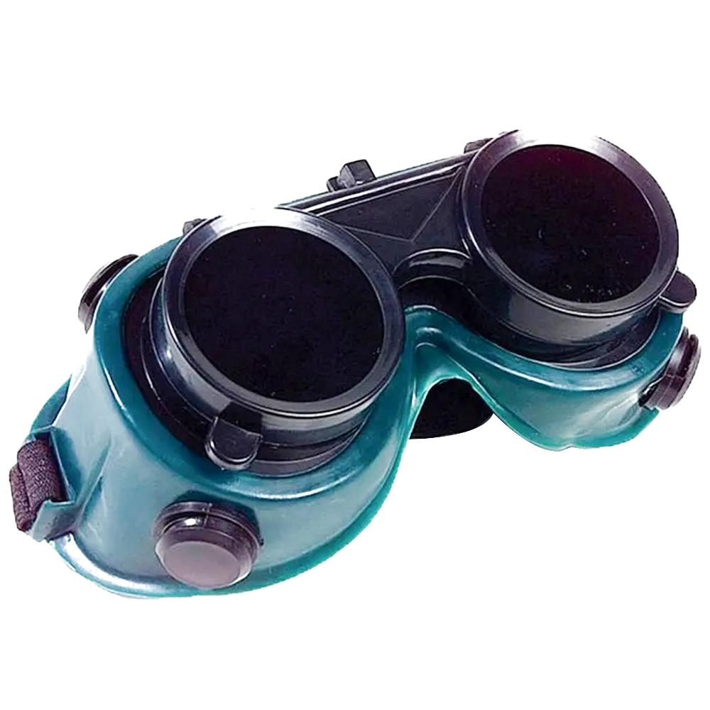Óculos de Solda Proteção Epi Mascara Articulavel Dupla Lente Soldador