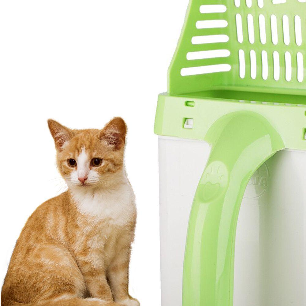 Pa Para Coletar Fezes Gato Cachorro Pet Lixeira Pazinha Higienica Peneira Areia