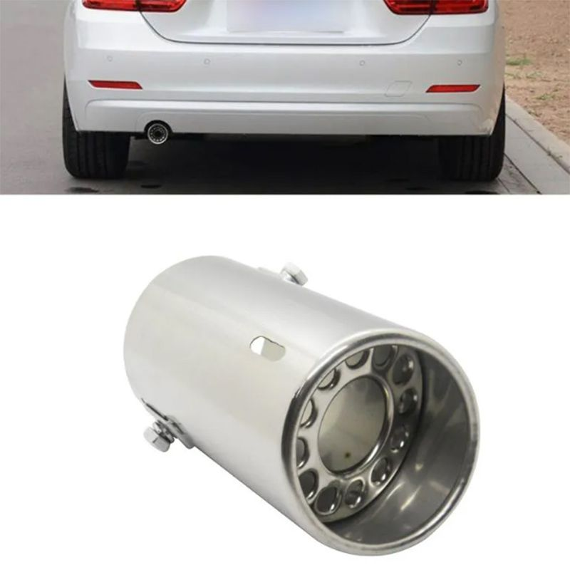 Ponteira Automotiva Escapamento Aço Inox Cromada Carro Universal
