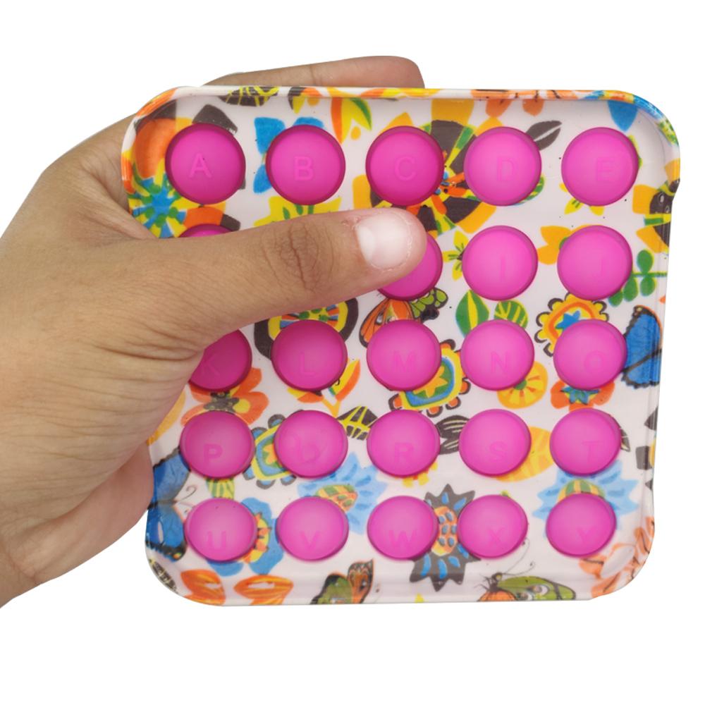 Pop it Fidget Anti estresse Relaxamento Ansiedade Bubble Sensorial