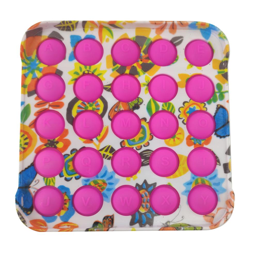 Pop it Fidget kit 2 uni Anti estresse Ansiedade Relaxamento Bubble Sensorial