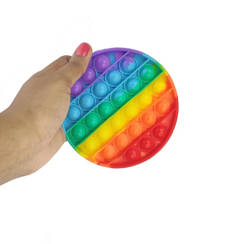 Pop it Fidget Sensorial Anti estresse Ansiedade Bubble