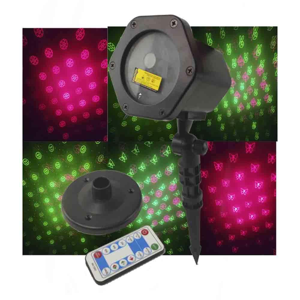 Projetor Laser Controle Remoto Luzes Natal Balada Festa Decoracao