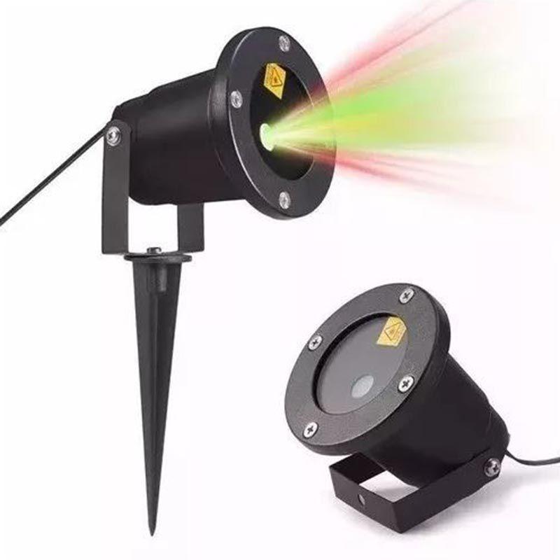 Projetor LED Holografico Coraçoes Espeto Jardim Bivolt Canhao de Luz