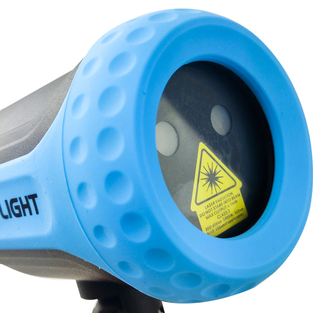 Projetor LED Holografico Luzes Espeto Jardim Bivolt Canhao de Luz Eventos
