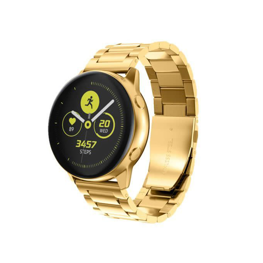 Pulseira para Smartwatch  Relogio Kit 2 uni Inox 3 Elos Smartband