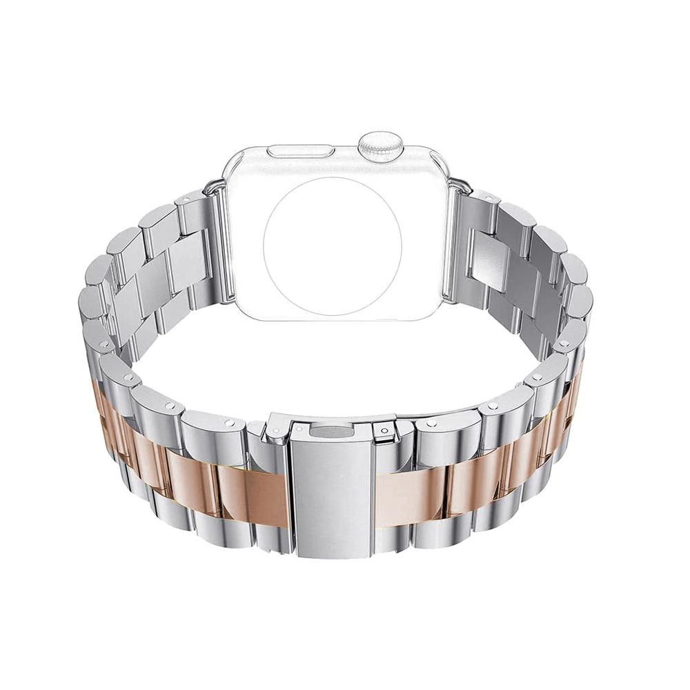 Pulseira Relogio Smartwatch 3 Elos Smartband Aço Inox inteligente band