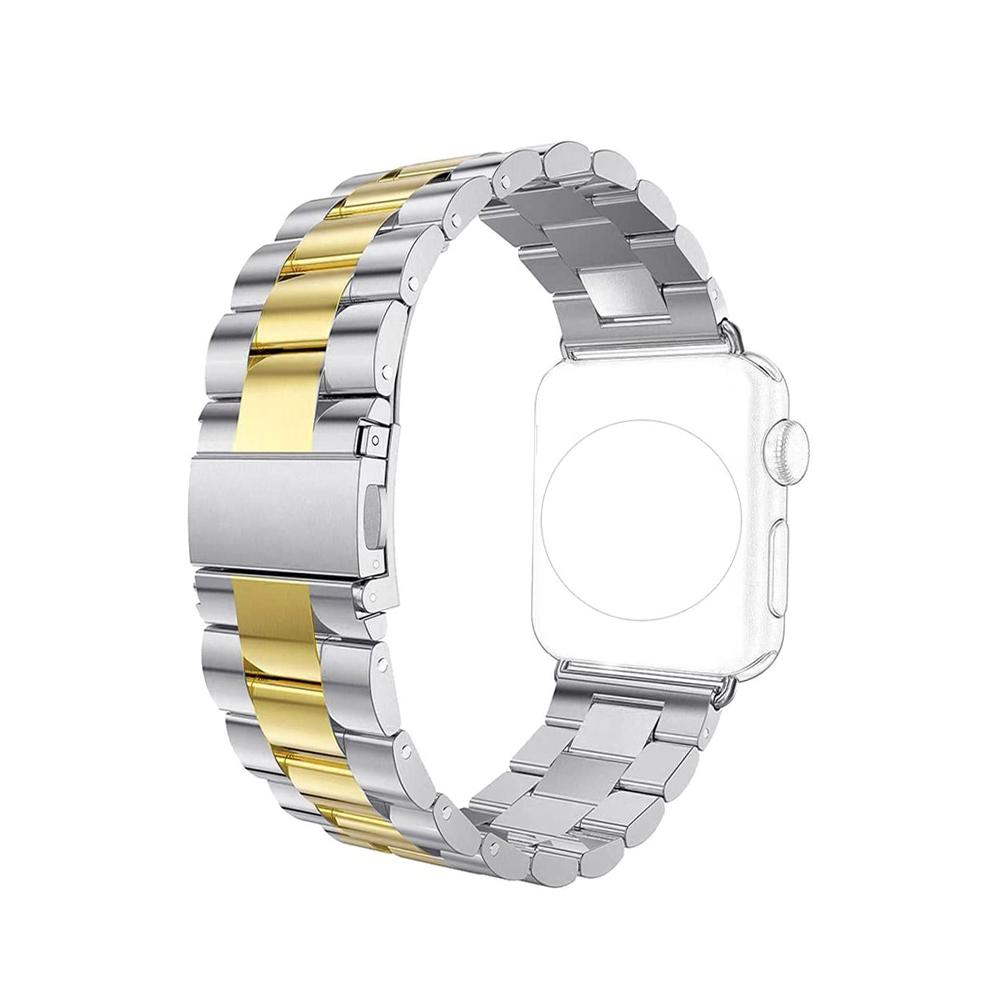 Pulseira Relogio Smartwatch Aço Inox 3 Elos Smartband inteligente band