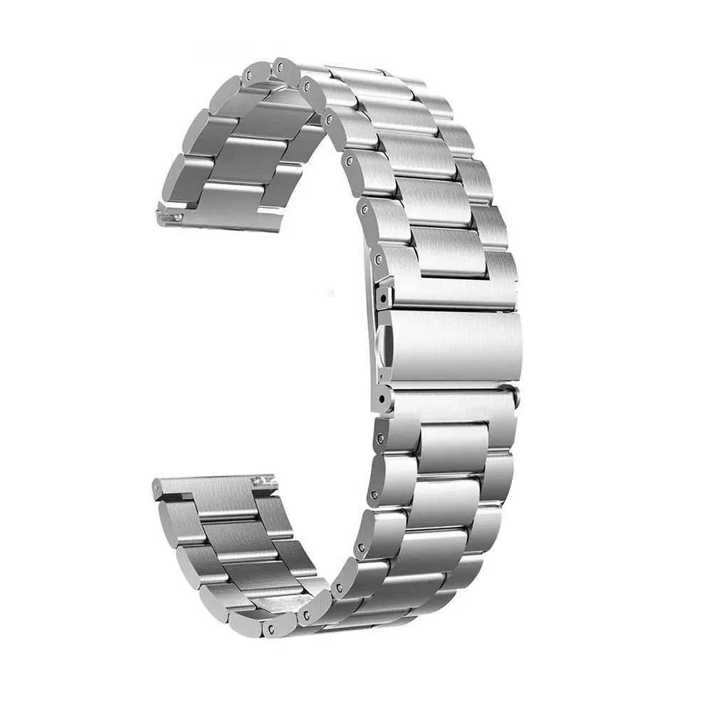 Pulseira Relogio Smartwatch Kit 2 Uni Smartband Inteligente Band 3 Elos Inox