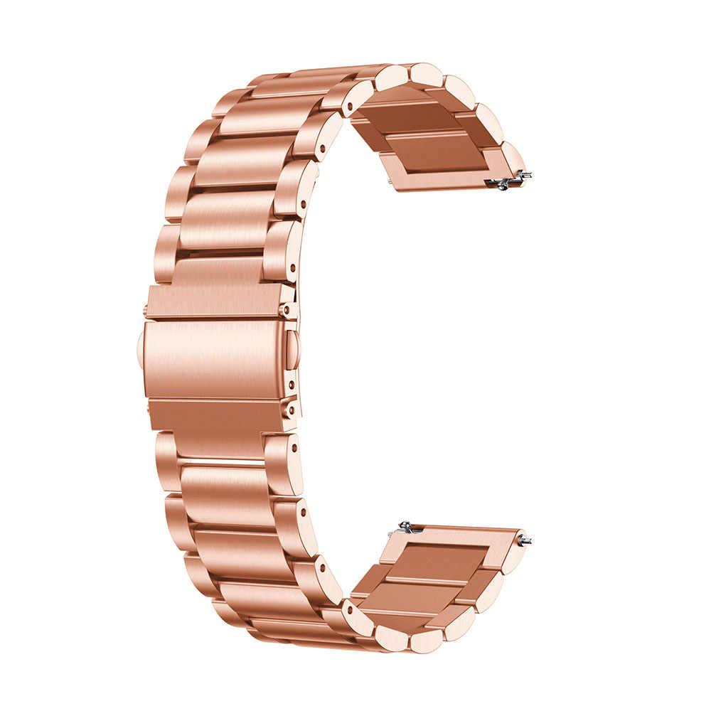 Pulseira Relogio Smartwatch Smartband esporte band inteligente Aço Inox 3 Elos