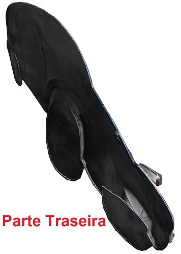 Quadro Fusca 3d Para Parede Em Metal Decoracao Vintage Retro Azul (ENFT-5 Azul)