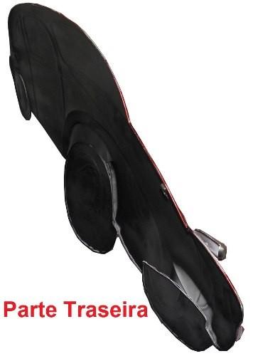 Quadro Fusca 3d Para Parede Em Metal Decoracao Vintage Retro Vermelho (ENFT-5 Vermelho)