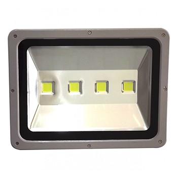 Refletor de LED Holofote Branco 200W Iluminacao Jardim (92041)