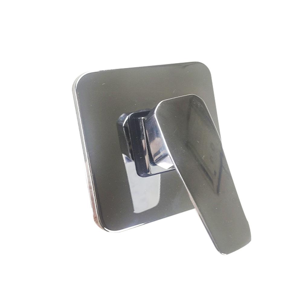 Registro Misturador Monocomando Banheira Chuveiro Cromado Banheiro Base Quadrado