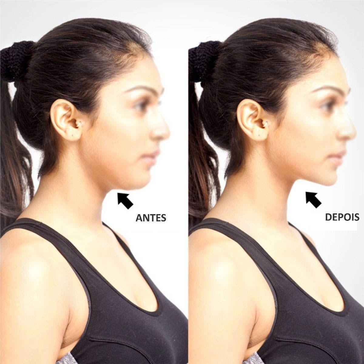 Remove Papada Massageador Pescoco Musculo Beleza Exercitador