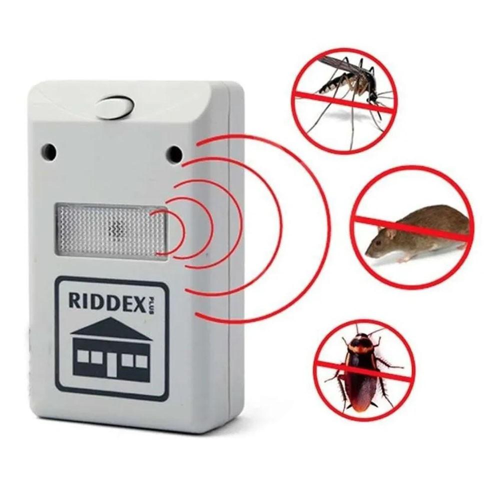 Repelente Eletrico Dengue Mosquitos Barata Rato Inseto Kit 5 Uni