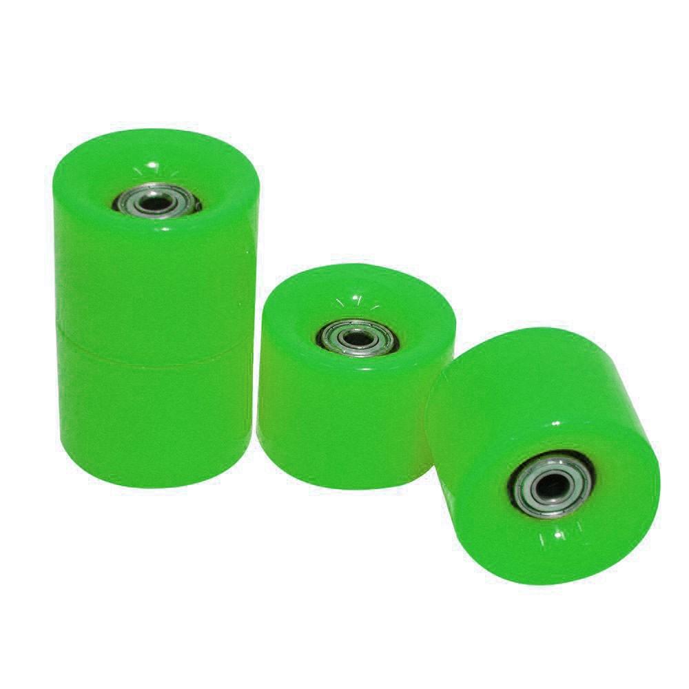 Rodas Skate Kit 4 Rolamentos Completo Esportes Abec 7 Silicone