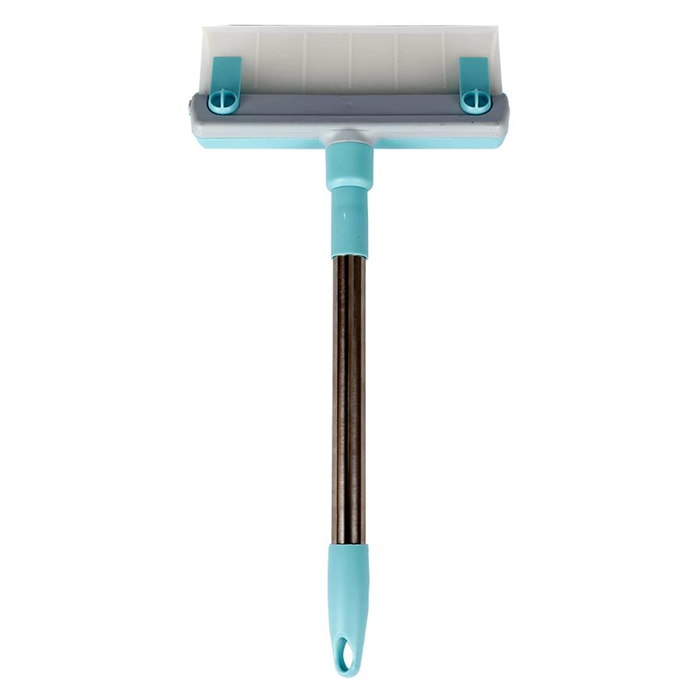 Rodo Limpa Vidro Janela Azulejo Porta Microfibra Silicone 2x1