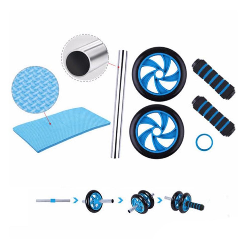 Rolo de Exercicio Fisico Abdominal Fitness Roda Musculos Funcional Lombar