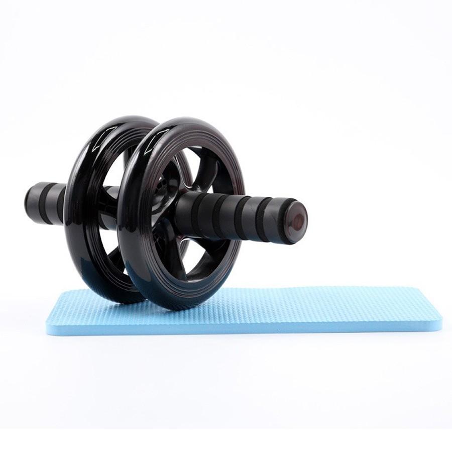 Rolo de Exercicio Fisico Roda Abdominal Fitness Funcional Lombar Musculos