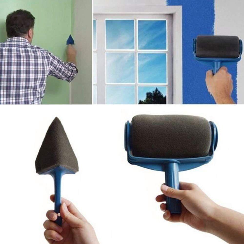 Rolo de Pintura Parede Facil Pintar Sem Sujeira Criativa Casa (BSL-PINT)