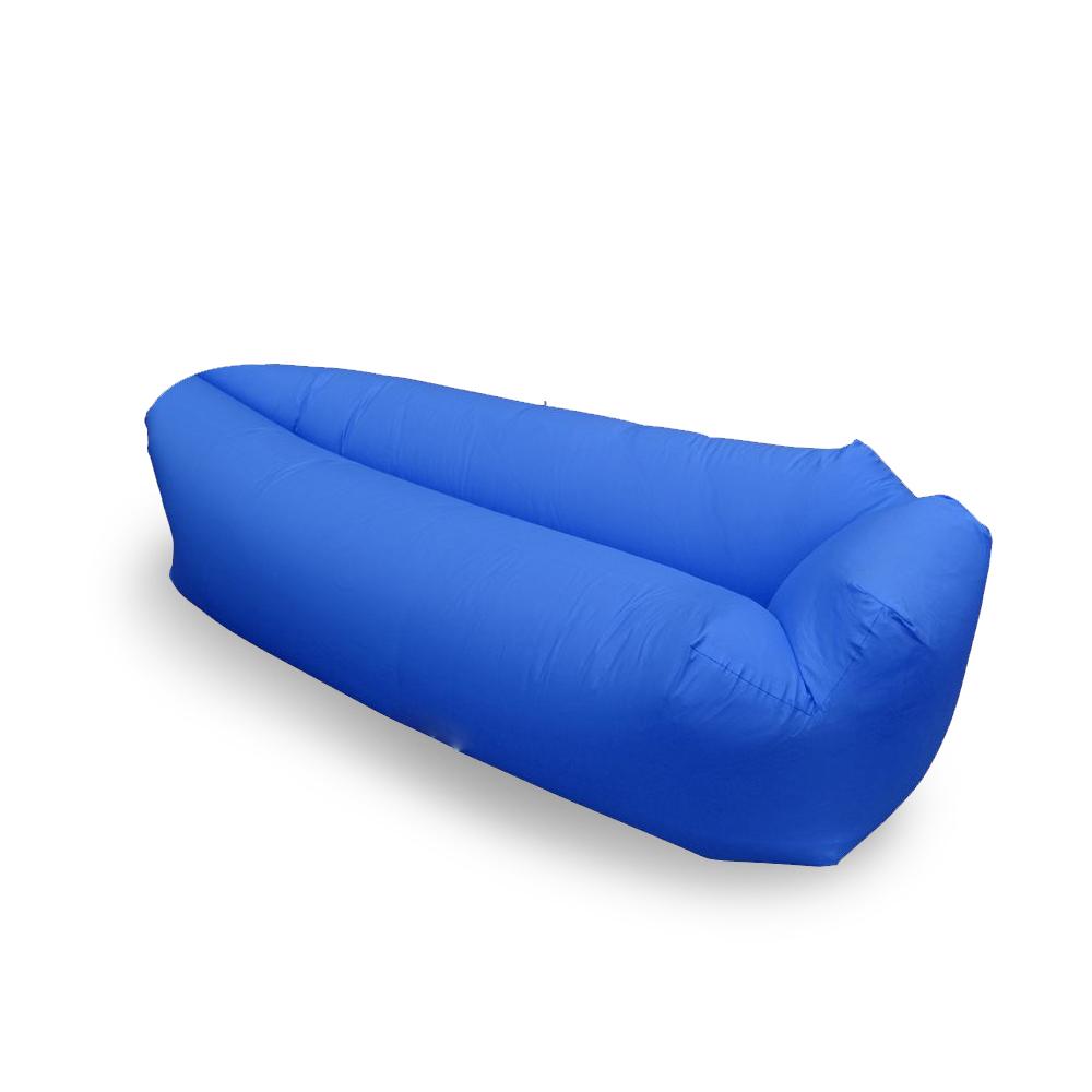 Saco de dormir Sofa Inflavel Puff Preguiçoso Camping Colchonete Magico Portatil Trilha  Praia Passeios