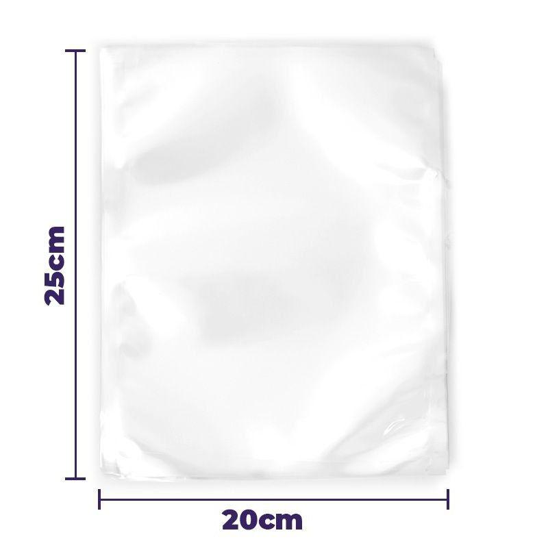 Saco Embalagem Seladora a Vacuo 60 unidades Saquinho Selar