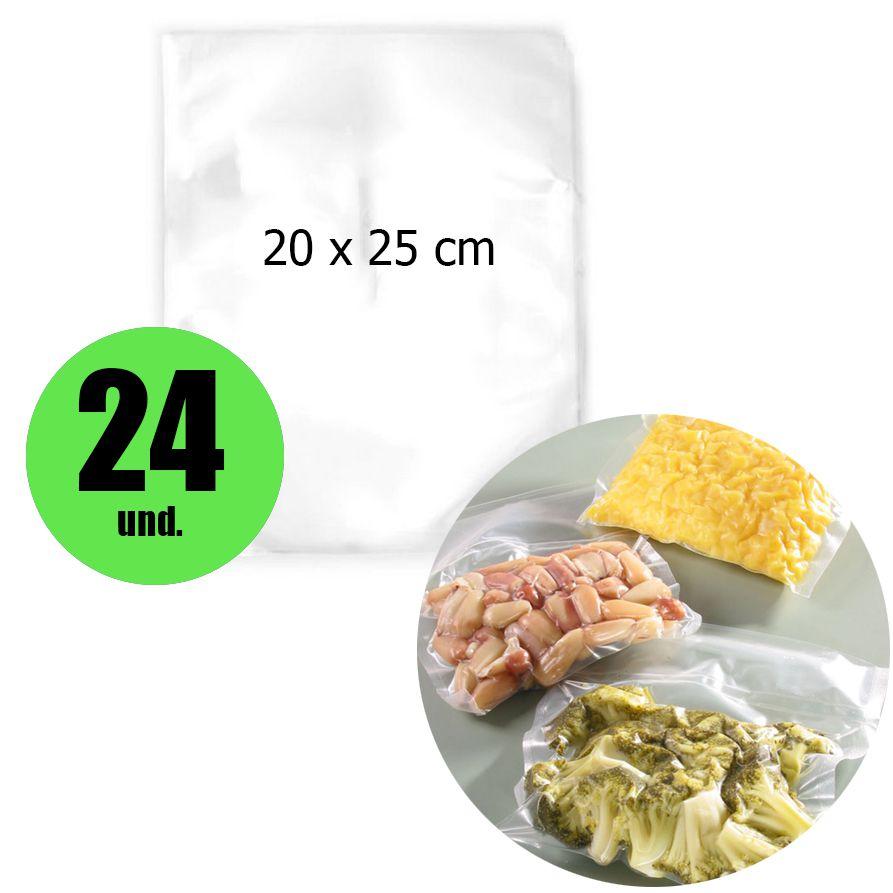 Saco Embalagem Seladora a Vacuo Saquinho 24 unidades Selar